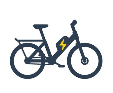 E-Bikes und Mountainbikes, E- Klappräder